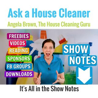 Show Notes - More House Cleaning Resources