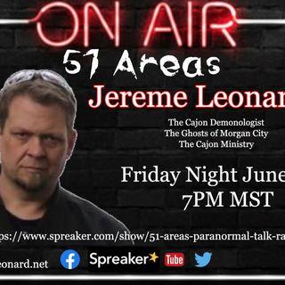 51 Areas - Jereme Leonard (Demonology, The Ghosts of Morgan City)
