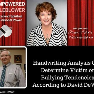 Handwriting Reveals Bullying/Discrimination Tendencies According to David DeWitt