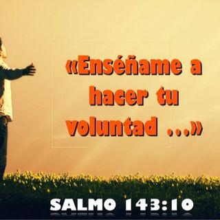 SALMO-143:10 HACIENDO LA VOLUNTAD DE DIOS