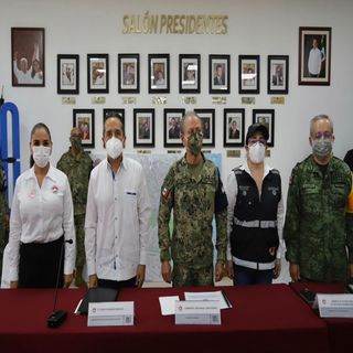 Instalan en Cancún, el Comité Estatal de Emergencias para enfrentar a Delta