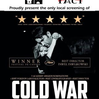"Tom Pruss is in to talk about the Polish Movie ""Cold War"""