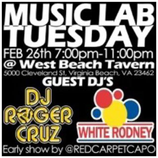 02 26 2019 Music Lab with MC Ghetto Prince & DJ White Rodney (#DjSekoVarnerAndFriends)