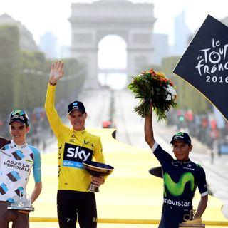 Nairo Quintana, a la conclusión del Tour de Francia 2016