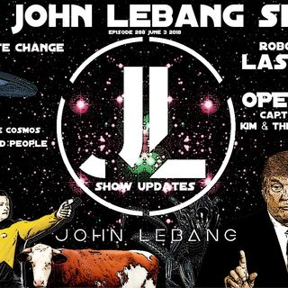 The John Lebang Show Episode 288 [Aliens, UFO, Robots, Open Lines]