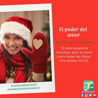 24 de diciembre - El poder del amor - Una Nueva Versión de Ti 2.0 - Devocional de Jóvenes