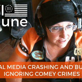 Media Ignores FBI Comey Crimes Focusing On Donald Trump Jr Russian Emails 7 11 2017