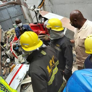 Helicopter Crash kills Two, Injures One In Lagos