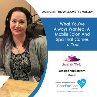 "11/21/17: Jessica Vickstrom with ""Jessie's On The Go"" 