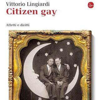 """Agenda Letteraria - Presentazione del saggio """"Citizen Gay"""" di Vittorio Lingiardi a Roma"""