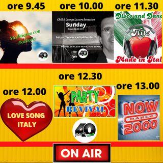 "Radio 40 "" Forty Morning"" Domenica 14/02/2021"