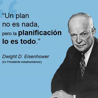 Planificar lo es todo ...