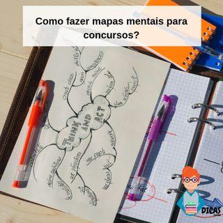 044 Como fazer mapas mentais para concursos?
