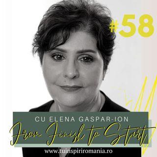 From FINISH to START | Importanța asumării propriilor decizii în carieră | Elena Gaspar Ion
