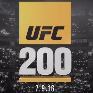 UFC 200 post show