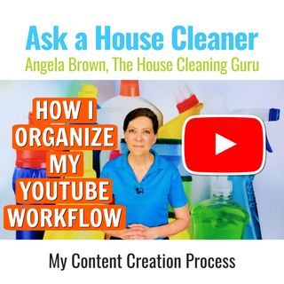 How I Organize My YouTube Workflow - Content Creation Process