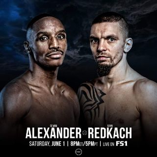 Preview Of The PBConFox Card Headlined By Devon Alexander - Ivan Redkach On FS1