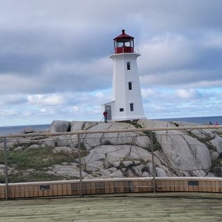 Easier now for the Peggy's Cove Protestors