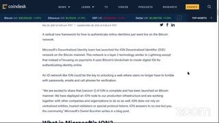 Bitcoin Steady near $54K - Fidelity ETF - Microsoft ION - #TiB (Mar 27, 2021)