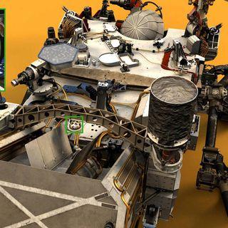 Un laser spaziale per Perseverance