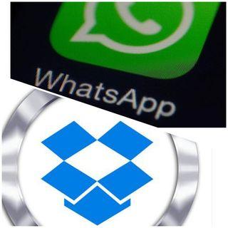 Come esportare file audio da Dropbox verso WhatsApp.