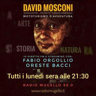 """09.11.2020 Recording Rubrica di David Mosconi """"Turismo Immersivo"""" su Radio Mugello 99.0"""