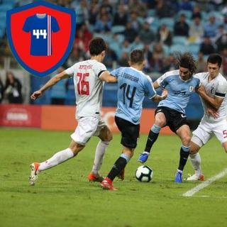 CAMISA 44 #02 - Uruguai x Japão - Copa América