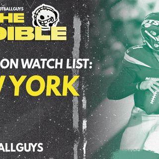 2021 Fantasy Football - New York Jets Preseason Watch List