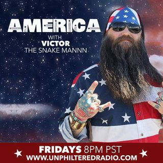 America with Victor the Snakemannn