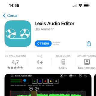 Episodio 8 - WhatsTech Blog - Lexis Audio Editor app