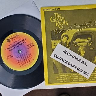 Side 1 and 2 Their 16 Greatest Hits (1971) (Jukebox EP) (Quadraphonic)