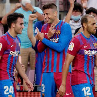 Primer partido del Barcelona en liga en la era post messi