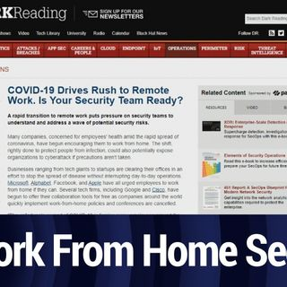 Security For the Rush of Remote Workers | TWiT Bits