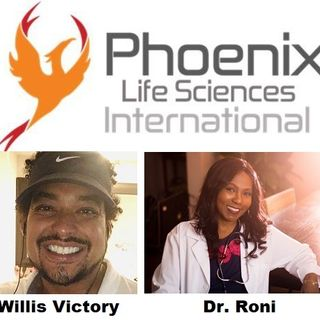 Willis Victory and Dr. Roni of Phoenix Life Sciences Intl discuss #cbdproducts on #ConversationsLIVE