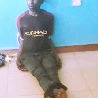 SUSPECTED OYO SERIAL KILLER, SUNDAY SHODIPE, BACK IN POLICE CUSTODY