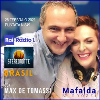 Con Max de Tomassi - Brasil su RAI Radio 1- puntata 849