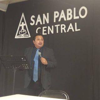 Pastor Porfirio Martinez en la Central de San Pablo