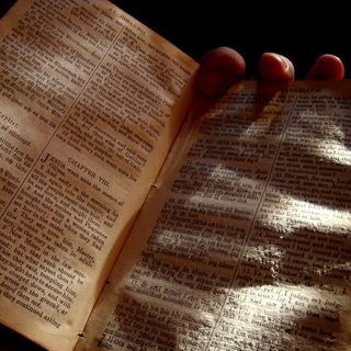 READING THE BIBLE - An Epistle of Straw