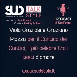 Viola Graziosi e Graziano Piazza per il Cantico dei Cantici, il più celebre tra i testi d'amore