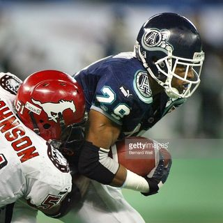 CFL Legends show:Robert Drummond 4x Grey Cup Champion!