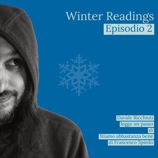 Winter readings | Letture da Stiamo abbastanza bene di Francesco Spiedo