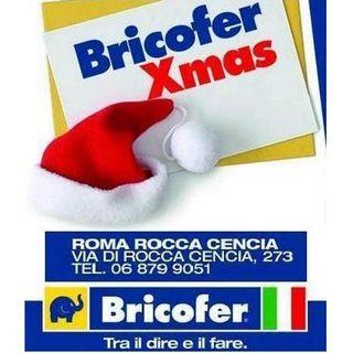 Spot radiofonico Bricofer Xmas 2018 Roma Rocca Cencia