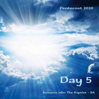 PENTECOST NOVENA - DAY 5