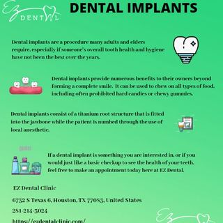 Get your Implants fixed by the best Implant Dentist