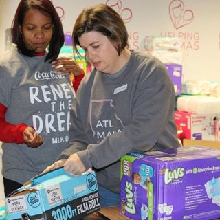 Helping Mamas Can Buy More Baby Supplies With A $25,000 The Received From The Chesnut Family Foundation