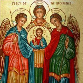Arcángeles Miguel, Rafael y Gabriel