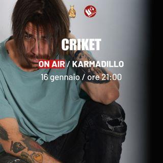 Criket Pt.2: diss, crew, flow, freestah, skrt - Karmadillo - s03e13