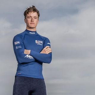 British Olympic sailor Elliot Hanson