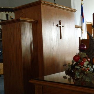 The Creek Road Baptist Pulpit