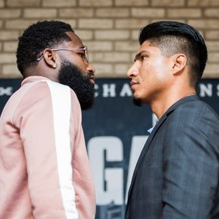 Boxing: Mikey Garcia-Adrien Broner Joint Media Call